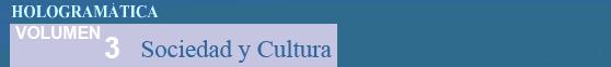 Sociedad y Cultura - Volumen 3